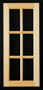 100 mullion door